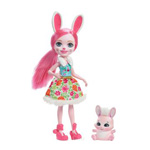 Enchantimals Кукла Bree Bunny с любимой зверюшкой