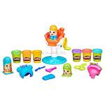 Play-Doh. Набор для лепки «Сумасшедшие прически»